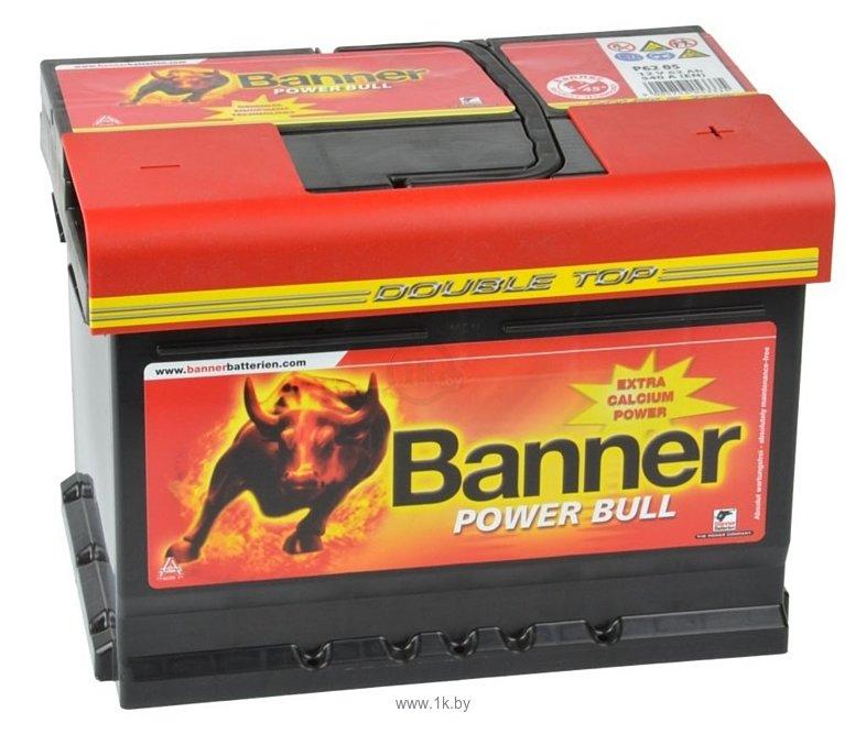Фотографии Banner Power Bull P6205 Double Top (62Ah)