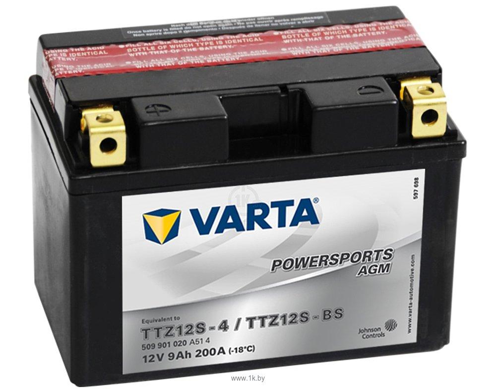 Фотографии VARTA FUNSTART AGM 509901020 (9Ah)