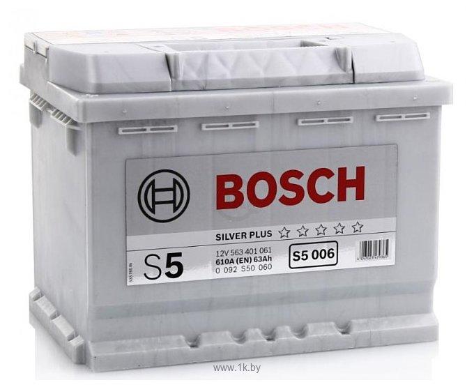 Фотографии Bosch S5 006 563 401 061 (63Ah)