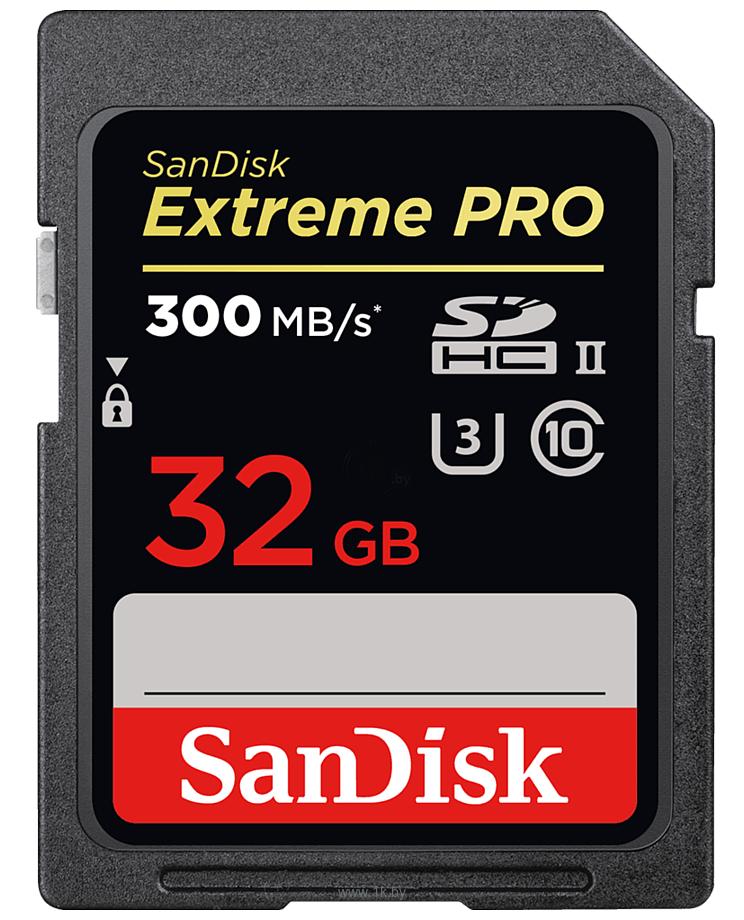 Фотографии Sandisk Extreme Pro UHS-II SDHC 32GB (SDSDXPK-032G-GN4IN)