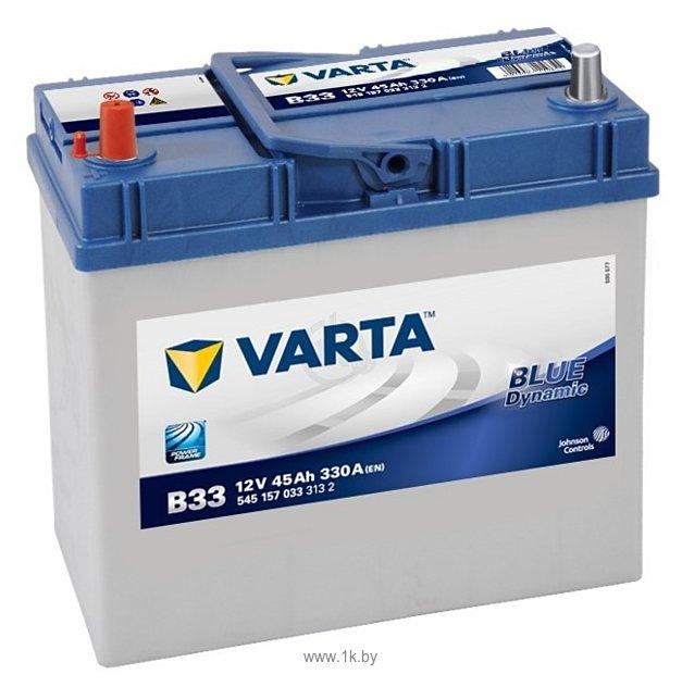 Фотографии VARTA BLUE Dynamic B33 545157033 (45Ah)