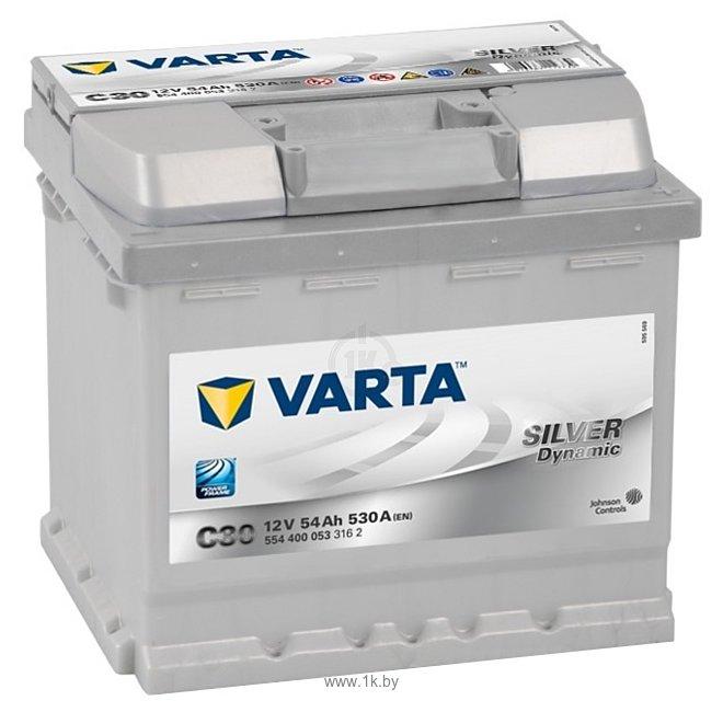 Фотографии VARTA SILVER Dynamic C30 554400053 (54Ah)