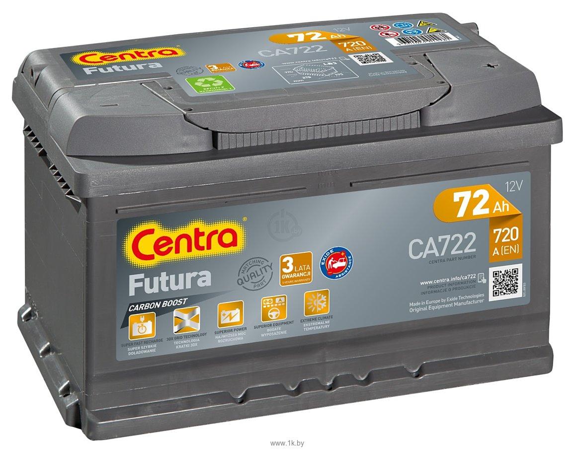 Фотографии Centra Futura CA722 (72Ah)