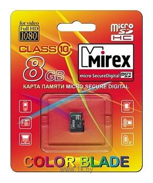 Фотографии Mirex microSDHC Class 10 8GB