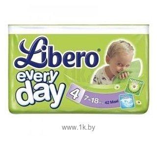 Фотографии Libero Everyday 4 Maxi 7-18 кг 42 шт
