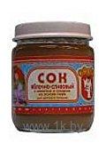 Фотографии Новка Яблочно-сливовый с мякотью и сахаром на основе пюре, 180 мл