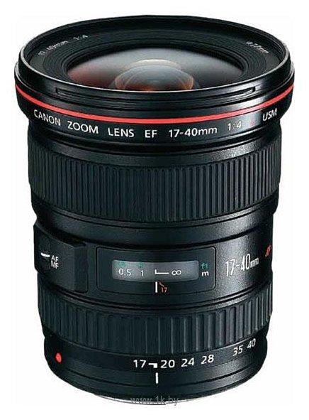 Фотографии Canon EF 17-40mm f/4L USM