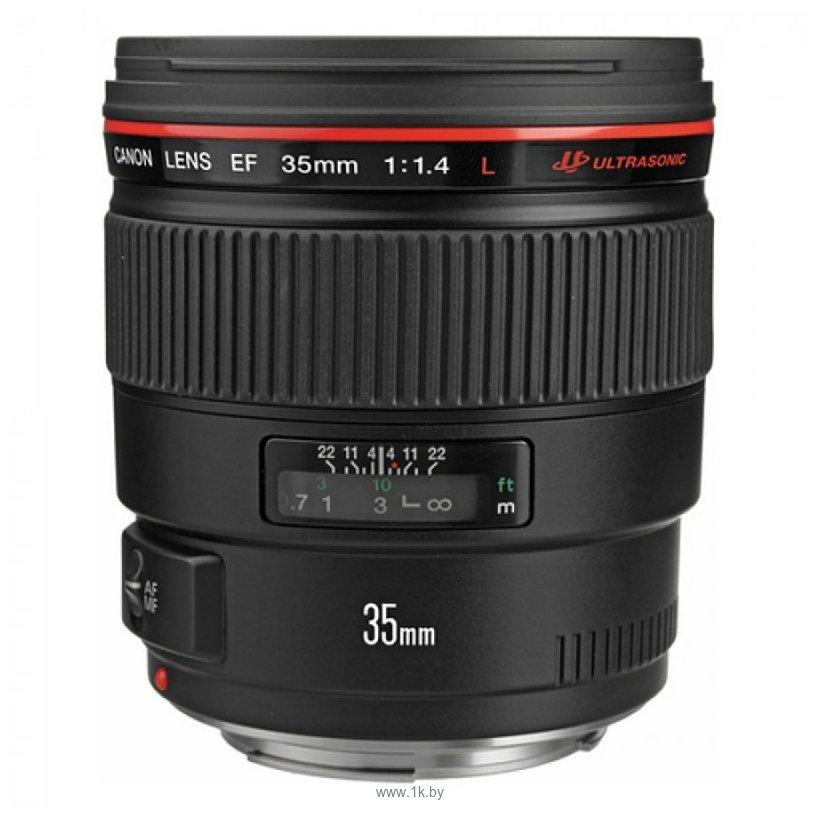 Фотографии Canon EF 35mm f/1.4L USM