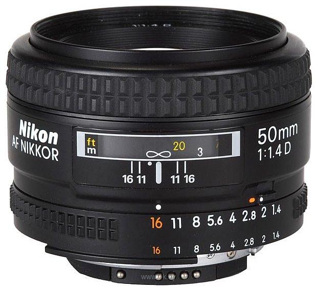 Фотографии Nikon 50mm f/1.4D AF Nikkor