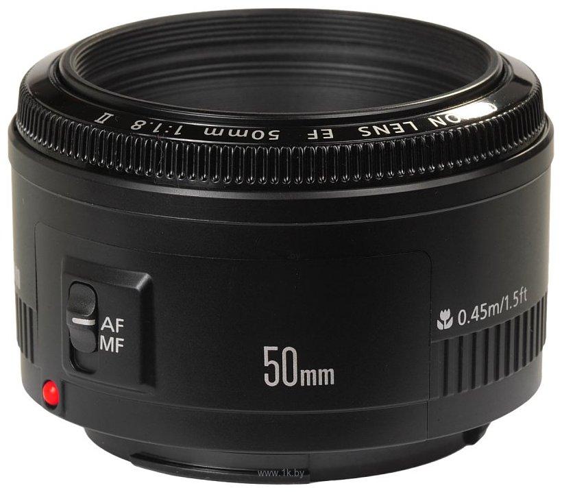 Фотографии Canon EF 50mm f/1.8 II