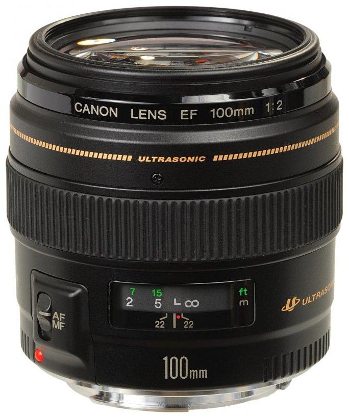 Фотографии Canon EF 100mm f/2 USM