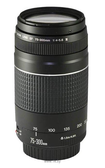 Фотографии Canon EF 75-300mm f/4-5.6 III