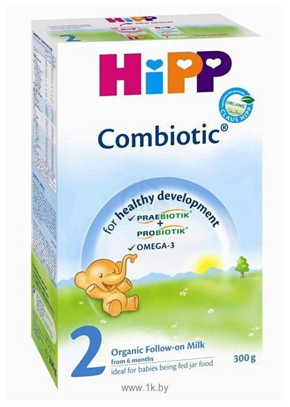 Фотографии HiPP 2 COMBIOTIC, 300 г