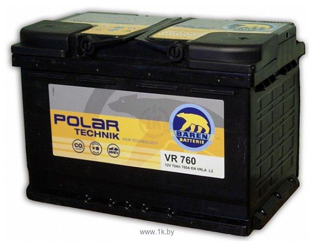Фотографии Baren Polar Technik AGM VR760 (70Ah)