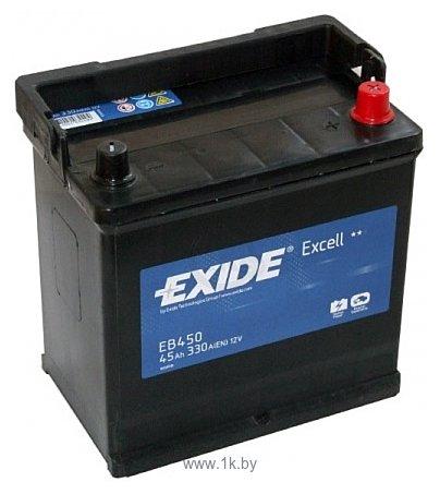 Фотографии Exide Excell EB450 R+ (45Ah)