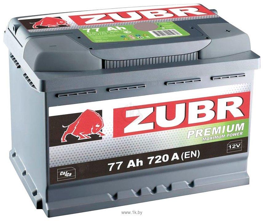 Фотографии Зубр Premium R+ (77Ah)