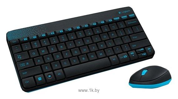 Фотографии Logitech Wireless Combo MK240 Black USB