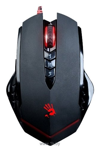 Фотографии A4Tech Bloody V8 game mouse Black USB