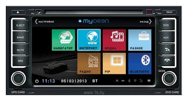mydean 3042 volkswagen touareg (2002-2010)