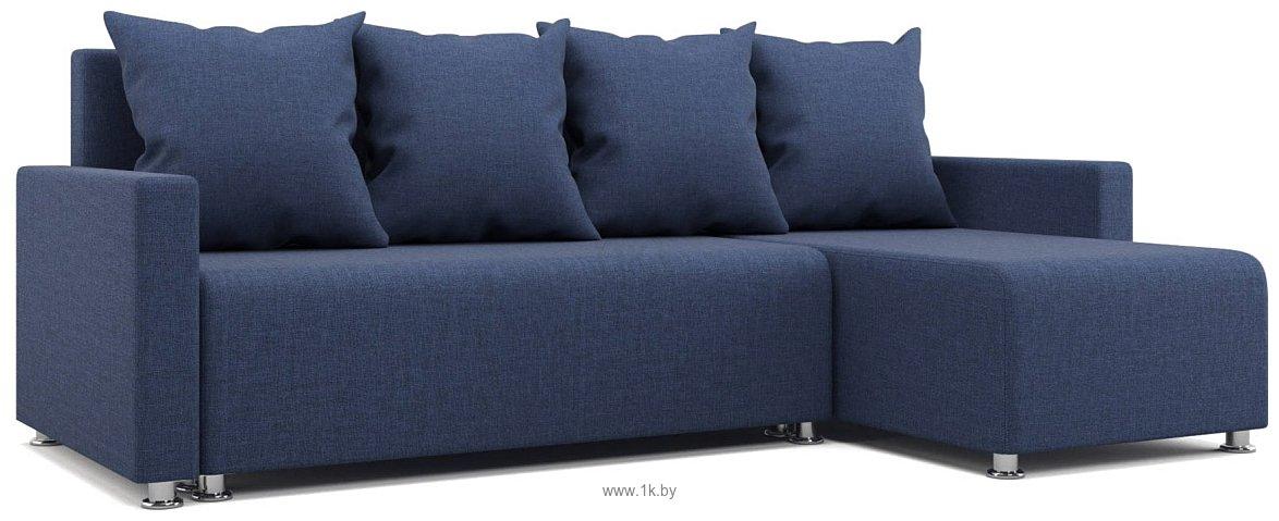 Фотографии Stolline Челси (рогожка синяя) (0201601700080)