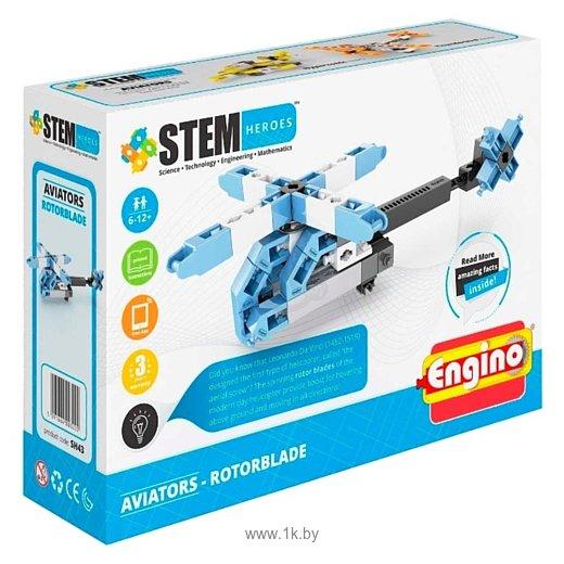 Фотографии ENGINO STEM Heroes SH43 Авиация - Вертолет