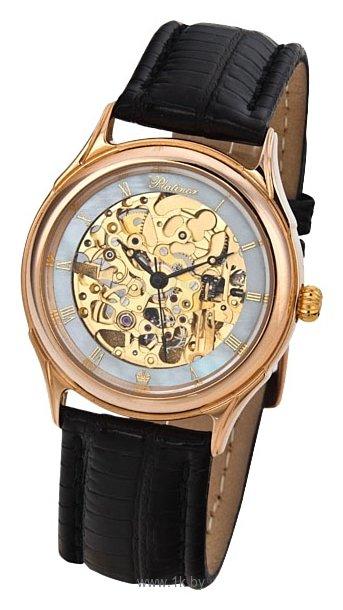 часы золотые женские скелетоны