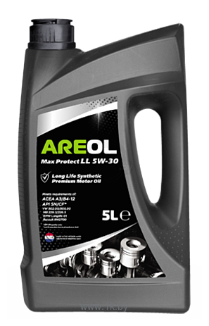 Фотографии Areol Max Protect LL 5W-30 5л