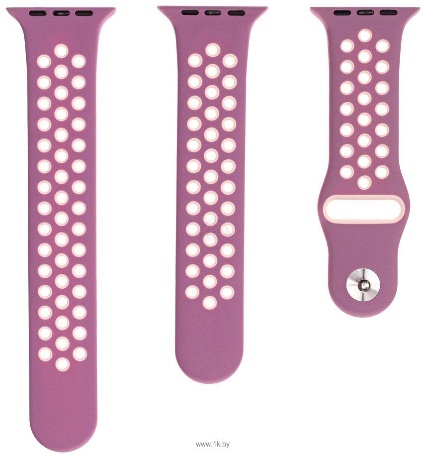 Фотографии Evolution AW40-SP01 для Apple Watch 38/40 мм (light purple/bright pink)