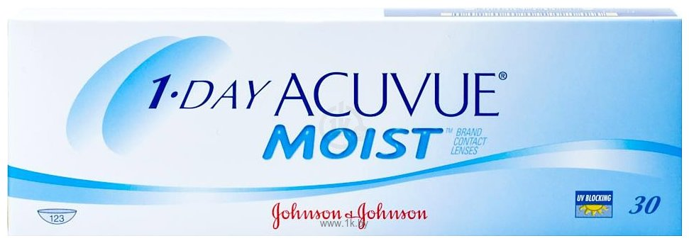 Фотографии Acuvue 1-Day Acuvue Moist -2.5 дптр 8.5 mm
