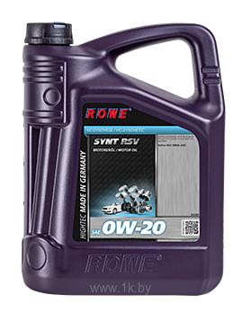Фотографии ROWE Hightec Synt RSV SAE 0W-20 5л (20260-0050-03)