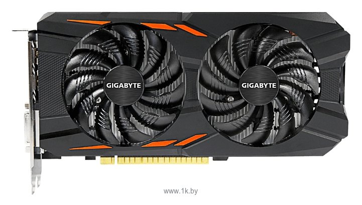Фотографии GIGABYTE GeForce GTX 1050 1392Mhz PCI-E 3.0 2048Mb 7008Mhz 128 bit DVI 3xHDMI HDCP Windforce OC