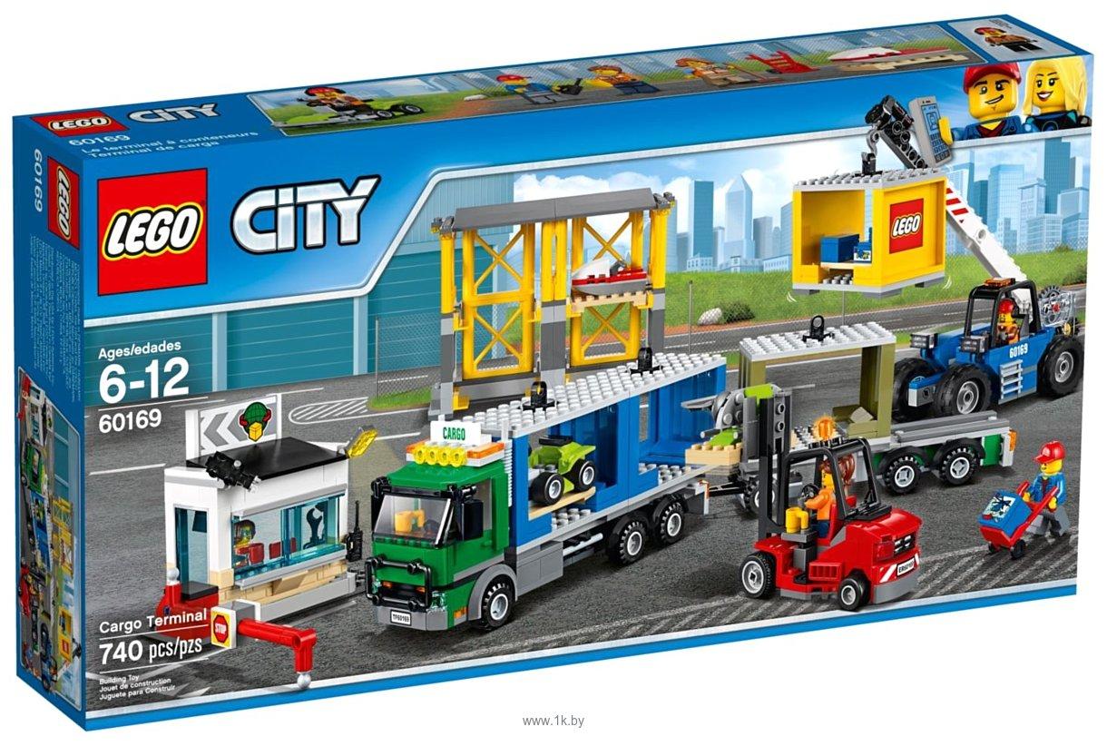 Фотографии LEGO City 60169 Грузовой терминал