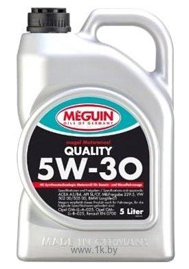 Фотографии Meguin Megol Quality 5W-30 5л (6567)