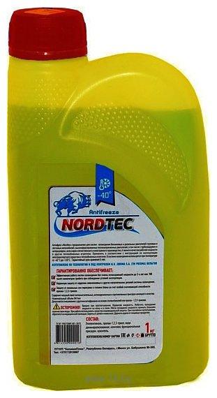 Фотографии NordTec Antifreeze-40 G12 желтый 1кг