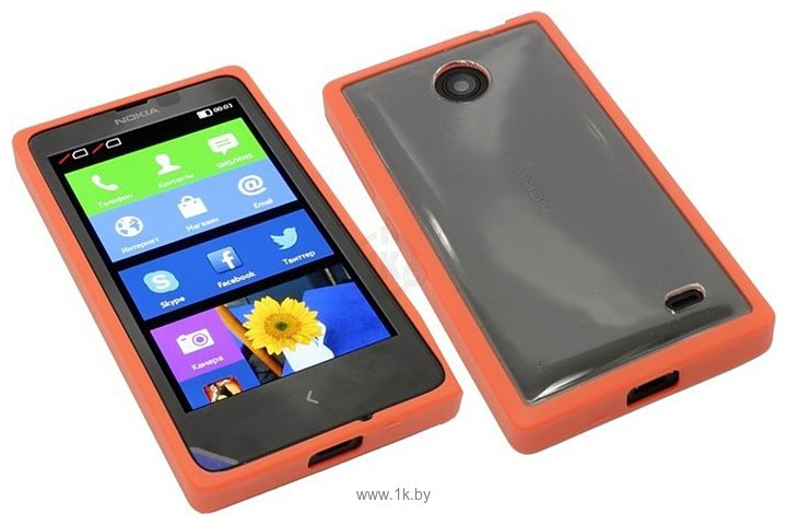 Фотографии NEXX Zero для Nokia X (красный)
