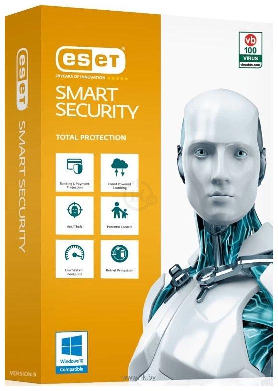 Фотографии NOD32 Smart Security (3 ПК, 1 год, ключ) продление лицензии