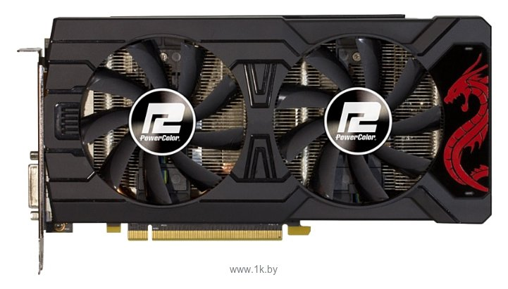 Фотографии PowerColor Radeon RX 570 1250Mhz PCI-E 3.0 4096Mb 7000Mhz 256 bit DVI HDMI HDCP Red Dragon