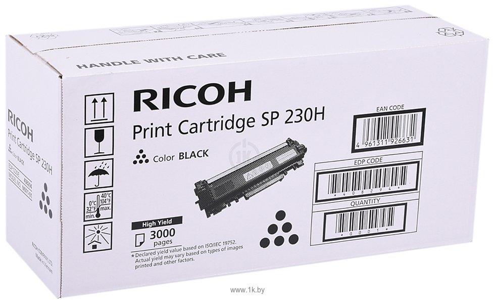 Фотографии Аналог Ricoh SP 230H