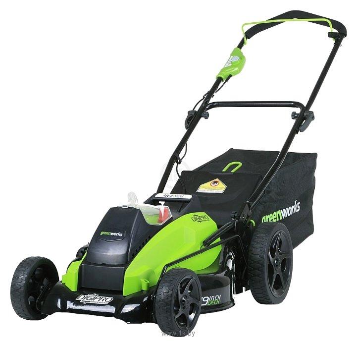 Фотографии Greenworks 2500407 G-MAX 40V GD40LM45