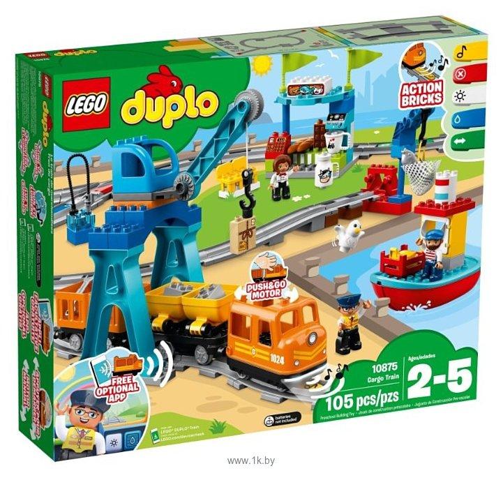 Фотографии LEGO Duplo 10875 Грузовой поезд