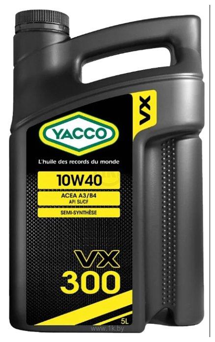 Фотографии Yacco VX 300 10W-40 5л