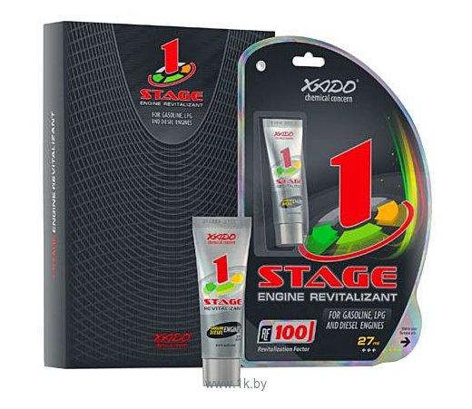 Фотографии Xado 1 Stage для бензиновых и дизельных двиgателей 27ml