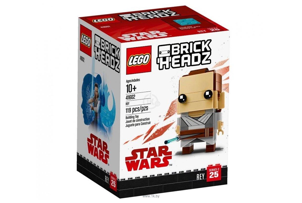 Фотографии LEGO BrickHeadz 41602 Рей