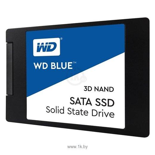 Фотографии Western Digital WD BLUE 3D NAND SATA SSD 250 GB (WDS250G2B0A)