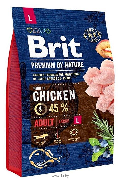 Фотографии Brit (3 кг) Premium by Nature Adult L