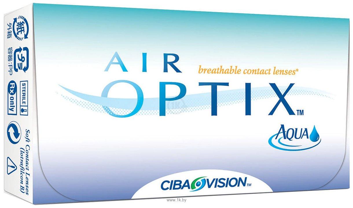Фотографии Alcon Air Optix AQUA (от -1,00 до -5,00) 8.6mm