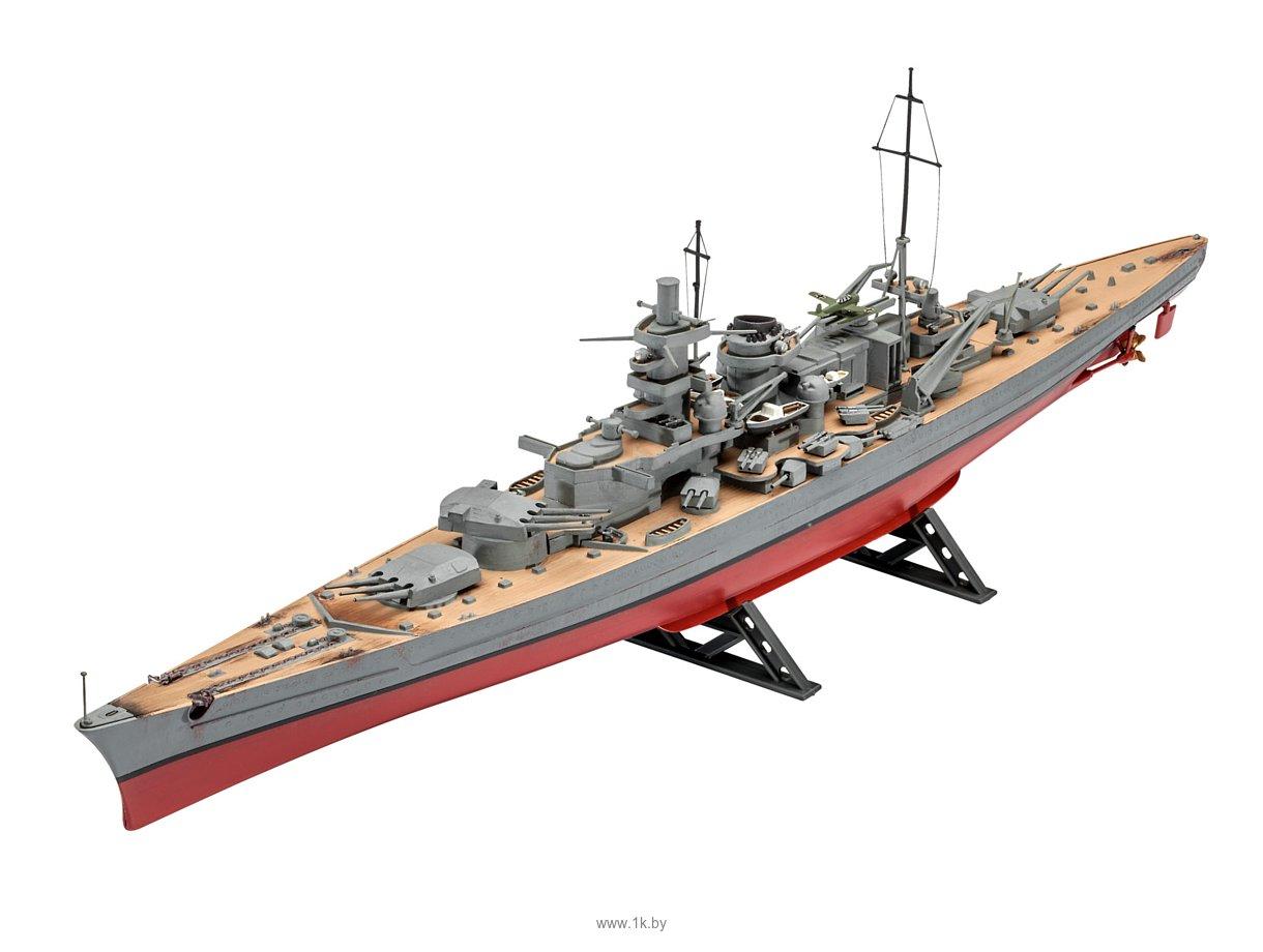 Фотографии Revell 05037 Немецкий линкор Scharnhorst