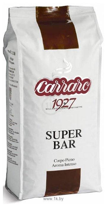 Фотографии Carraro Super Bar в зернах 1000 г