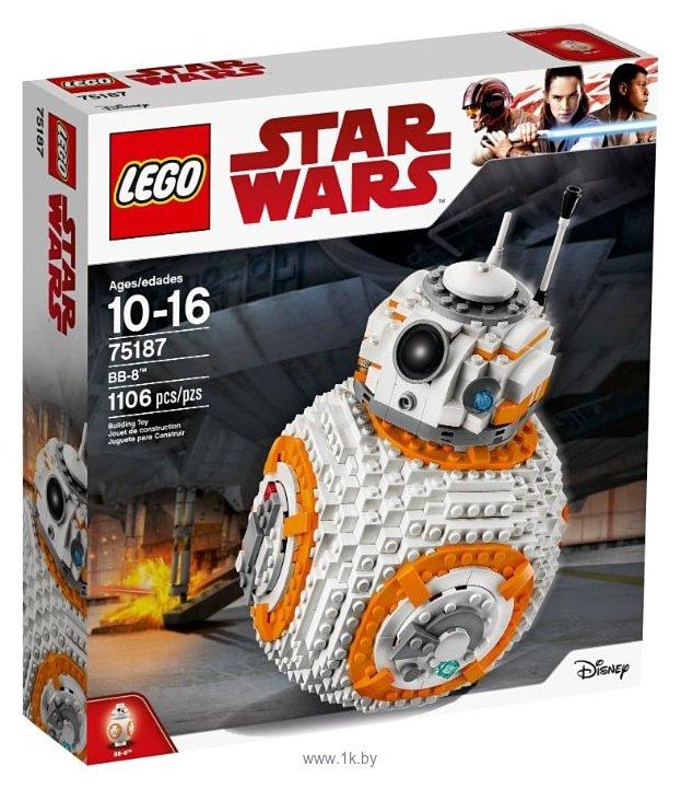Фотографии LEGO Star Wars 75187 BB-8