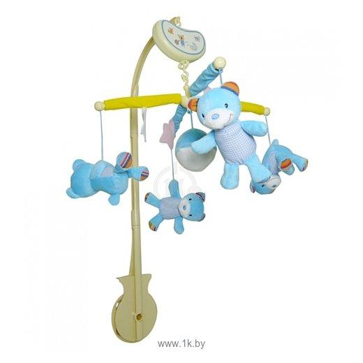 Фотографии Biba Toys BM038 Мишки голубой